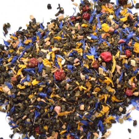 Herbata MAGNOLIA 50g, zielona Gunpowder z dodatkami 50g