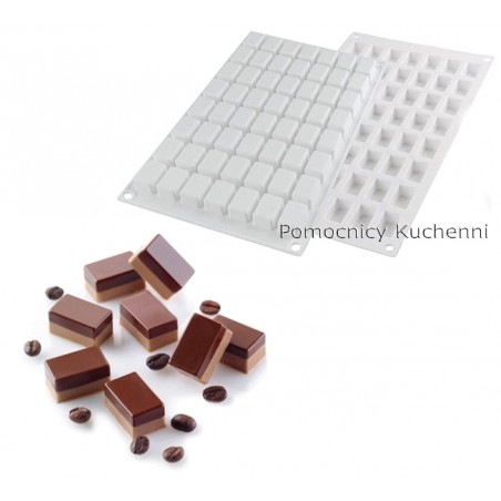 Forma silikonowa mikro prostokąt 5ml Micro rectangle 5 Silikomart Professional
