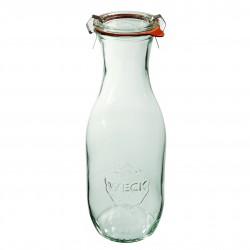 Szklana butelka na...