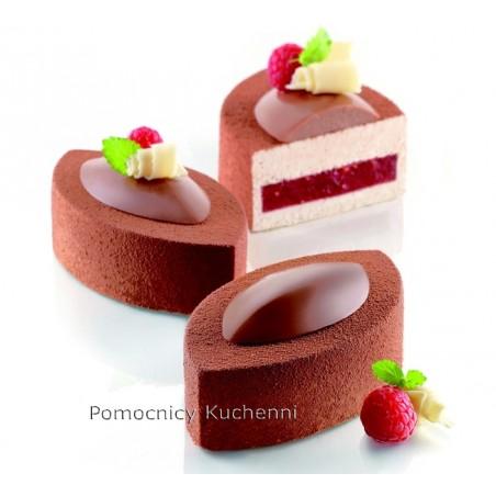 Forma silikonowa KIT LOVISSIMO kształt kakaowca. Komplet 5 form Silikomart Professional