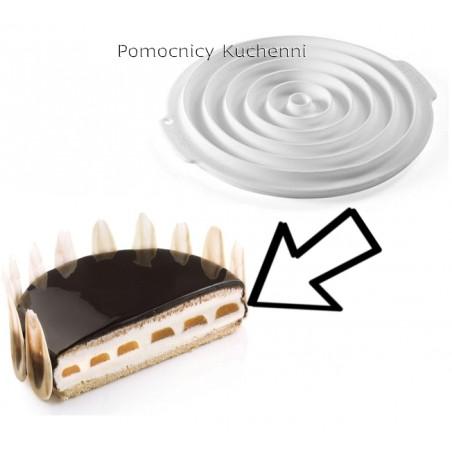 Forma silikonowa do ramek (kółek) okrągłych ID01  SILIKOMART PROFESSIONAL