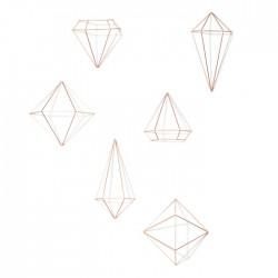 Dekoracja ścienna diamenty...