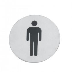 Tabliczka na WC Mężczyźni