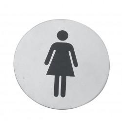 Tabliczka na WC Kobiety