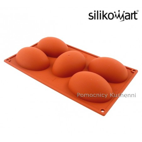 Forma silikonowa jajka 5 gniazd o poj 130 ml Silikomart SF041