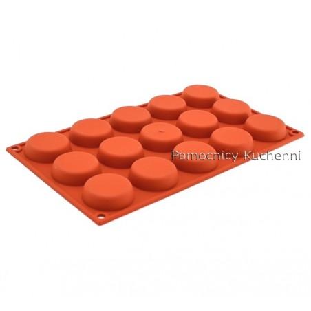 Forma silikonowa FLORENTYNKI 15 foremek poj. 30 ml SILIKOMART SF044