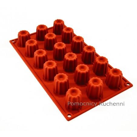 Forma silikonowa na babeczki bavarese bawarskie poj. 130 ml Silikomart SF033
