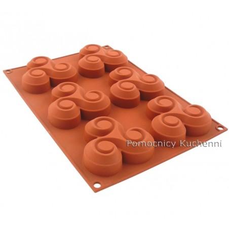 Forma silikonowa TRISKELL 6 foremek poj. 90 ml SF064