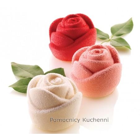 Forma silikonowa ROSA Róża śr.70 mm 6 gniazd poj. 143ml SILIKOMART