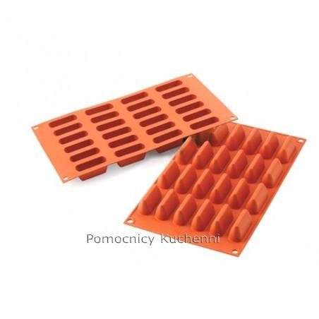 Forma silikonowa do dużych czekoladek Gianduiotto 24 gniazd o poj. 14ml SILIKOMART SF125