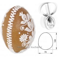Foremka jajko 3D duże h 9cm...