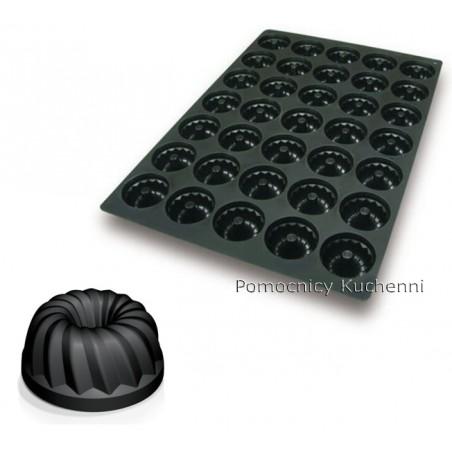 Forma silikonowa 40x60 cm średnie BABECZKI poj. 80 ml SQ049 SILIKOMART