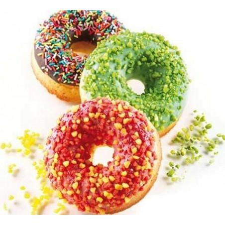 Forma silikonowa 40x60 cm donuts poj 1 gniazda 133 ml sq059 Silikomart