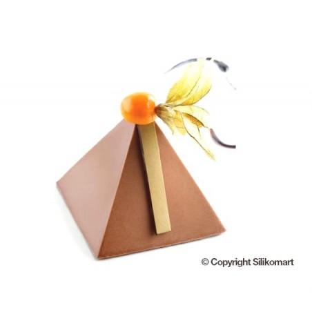 Forma silikonowa 40x60 cm piramidy poj. 118ml sq057 Silikomart