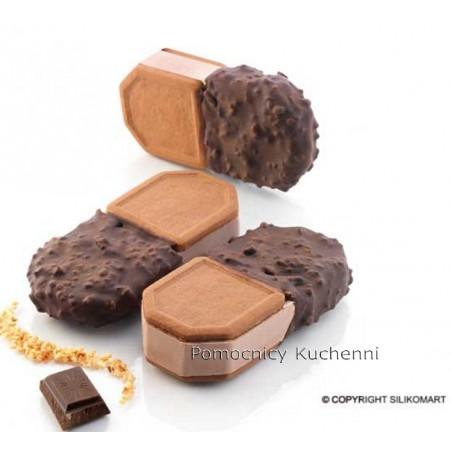 Forma silikonowa do lodowych kanapek kształt różny 118x54cm taca bisc05 crock Silikomart Professional
