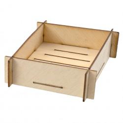 Naczynie bambusowe 8x8 cm op (6 szt)