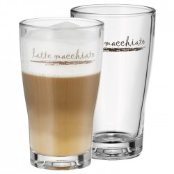 Szklanki do latte macchiato...
