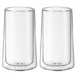 Szklanki z podwójnymi...