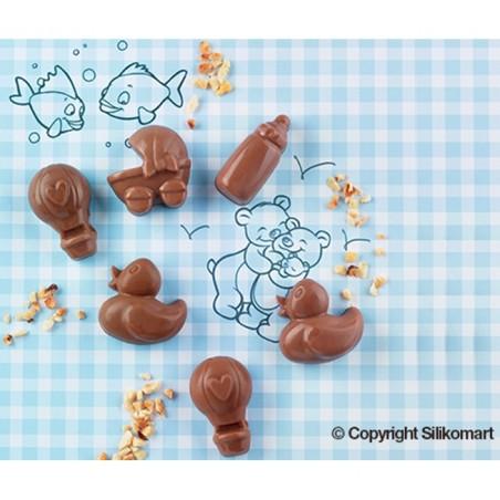 Forma silikonowa do czekoladek BOBAS Silikomart SCG31