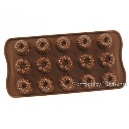 Foremka silikonowa do czekoladek, pralinek FANTAZJA - FANTASIA SCG19