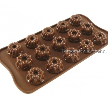 Forma silikonowa do czekoladek, pralinek FANTAZJA - FANTASIA SCG19