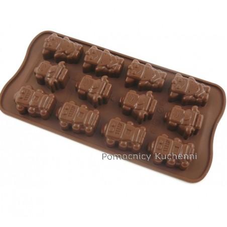 Foremka silikonowa do czekoladek, pralinek - ROBOTY SCG18
