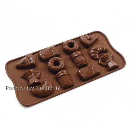 Foremka silikonowa do czekoladek, pralinek GOOD MORNING SCG22