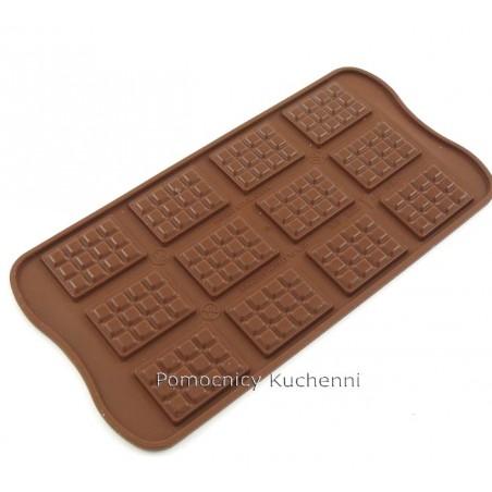 Foremka silikonowa do czekoladek, pralinek - TABLICZKI - TABELTTE SILIKOMART SCG11