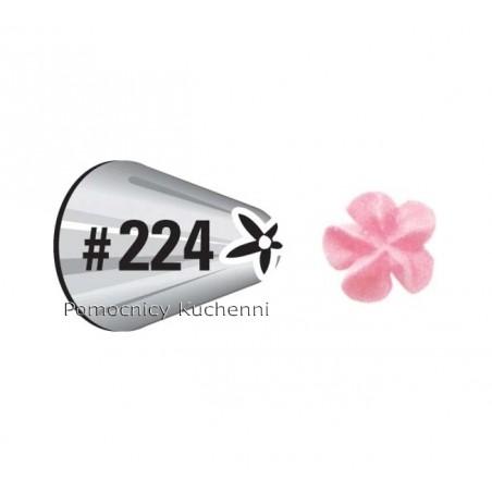 Tylka, końcówka do małych kwiatów 224 Dekoracja i torty WILTON 418-224
