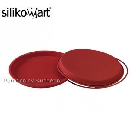 Forma silikonowa do pizzy z pierścieniem śr. 28 cm SFT228