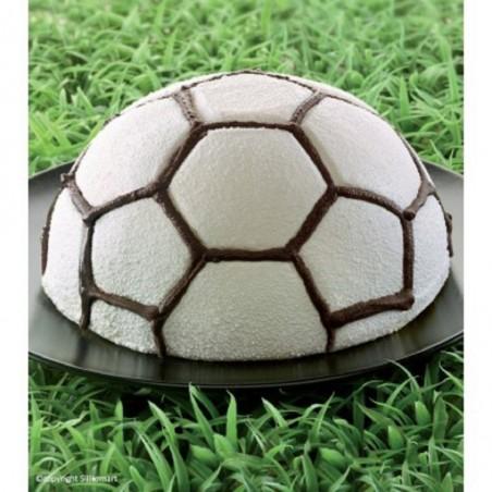 Forma silikonowa piłka nożna FOOTBALL śr. 180 mm H 95 mm SFT313 Silikomart