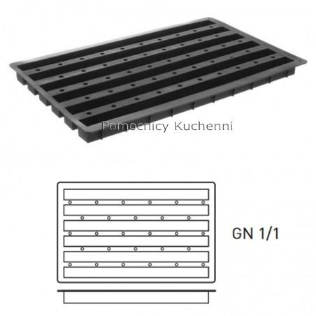 Forma silikonowa BELKA GN 1/1 6 x 445 ml HENDI 676394