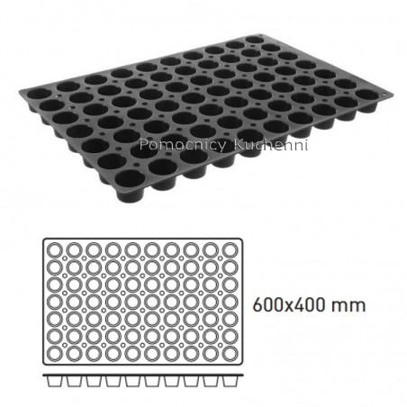 Forma silikonowa MINI MUFFINKI 60 x 40 cm 70 x 36 ml HENDI 676233
