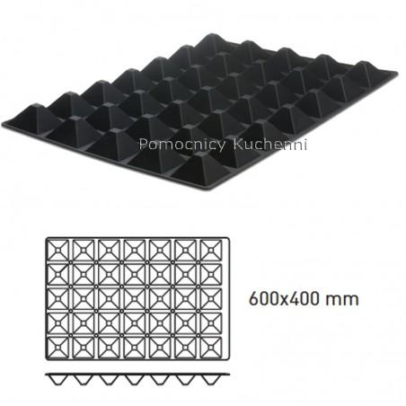 Forma silikonowa PYRAMIDY  60x40cm 35 x 60 ml HENDI 676264