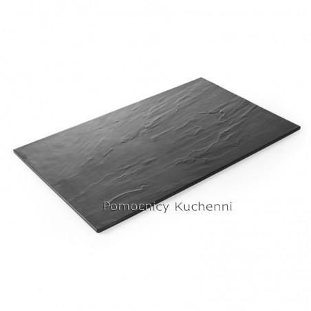 Płyta z melaminy - imitacja łupka 53x32,5 cm HENDI 561362