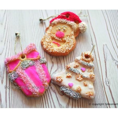 Forma silikonowa do ciastek i pierników Boże Narodzenie SILIKOMART HSH02 A