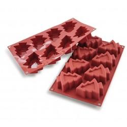 Forma silikonowa choinki 8...