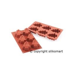 Forma silikonowa CHOINKI -...