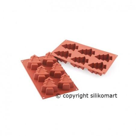 Forma silikonowa choinki poj 19ml SF202 Silikomart