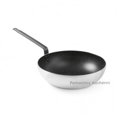 Patelnia wok - aluminiowa z powłoką nieprzywierajacą śr. 28 cm HENDI 627730