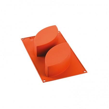 Forma silikonowa cake mk 170x80 mm wys. 50 mm 2 gniazda Silikomart