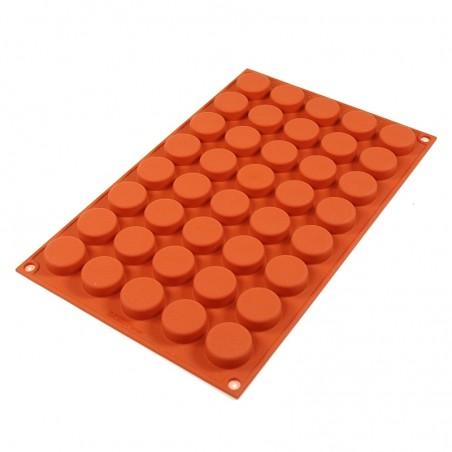 Forma silikonowa kółka monety SF180 Silikomart
