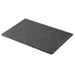BASALT talerz prostokątny 30x20 cm