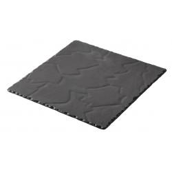BASALT talerz kwadratowy 25x25 cm