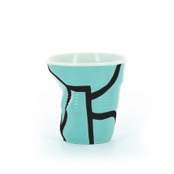 FROISSES Kubek All over turquoise 80 ml