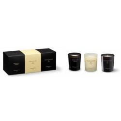 CM - Zestaw 3 małych świec zapachowych