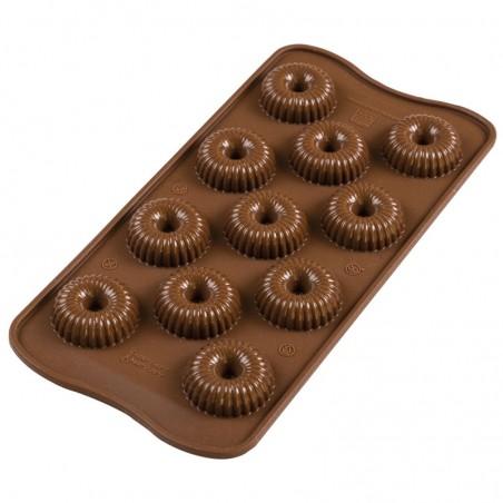 Forma silikonowa do czekoladek KORONA SILIKOMART SCG49