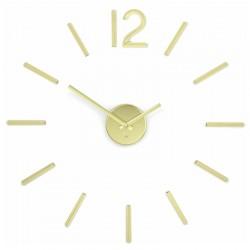 Zegar ścienny UMBRA mosiądz