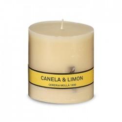 CM - Świeca Asturias 8 cm Cinnamon & Lemon