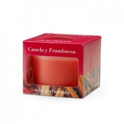 CM - Świeca Cordoba 9 cm Cinnamon & Raspberry